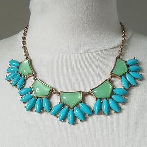 3/$10 chunky colorful bib necklace